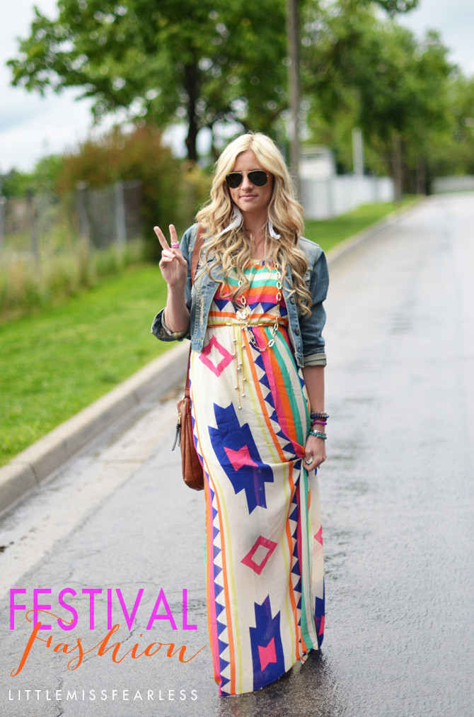 5ce6badbe88 Four Ways to Wear  Maxi Festival Fashion - Little Miss Fearless