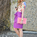 Four Ways to Wear: Florals & Stripes