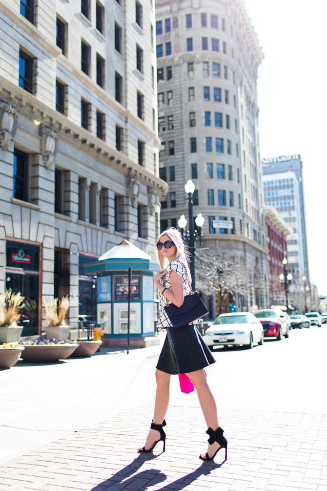 LittleMissFearless_scandal check peplum pink dvf sweater 17