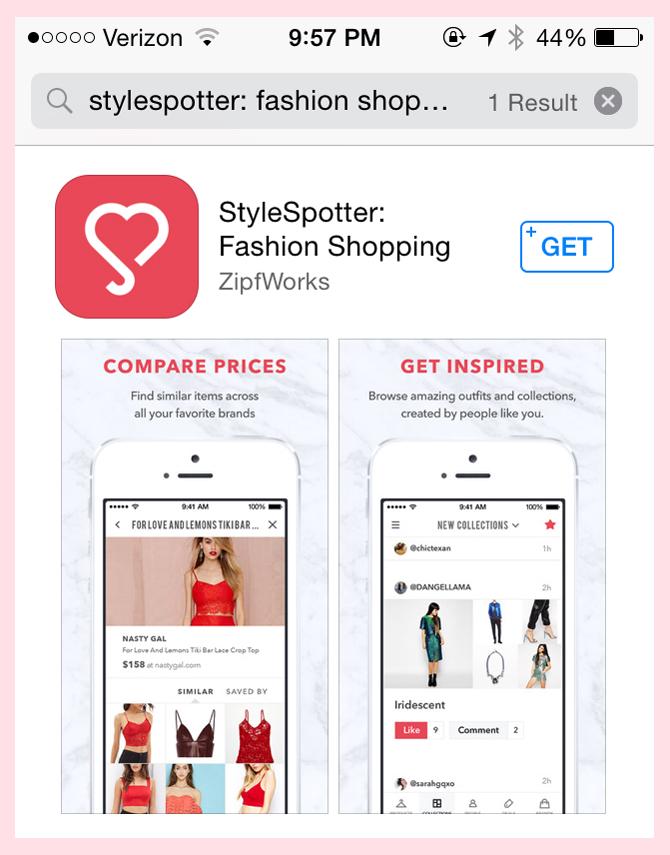 StyleSpotter_app store 2