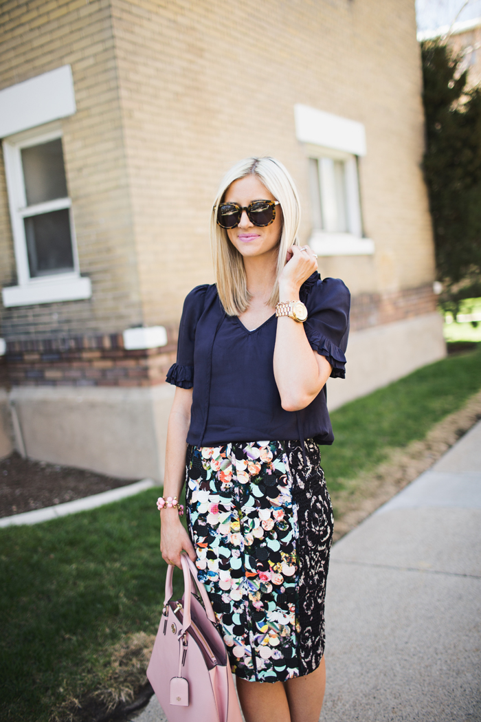 LittleMissFealress_Anthropologie Paillette Pencil Skirt 2
