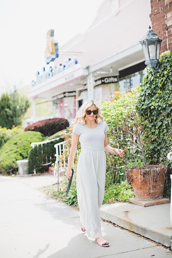 LittleMissFearless_DownEast Grey Easy Going Maxi Dress 5