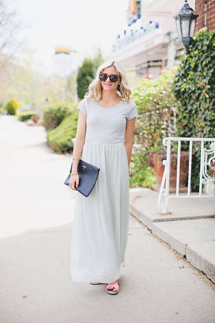LittleMissFearless_DownEast Grey Easy Going Maxi Dress 7