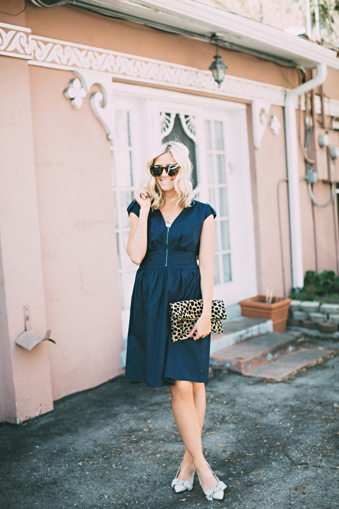 LittleMissFearless_DownEast Navy Zip Code Dress 2