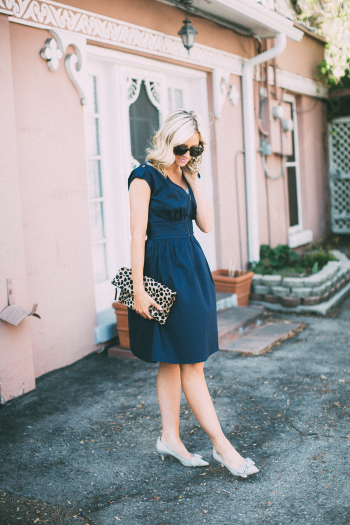 LittleMissFearless_DownEast Navy Zip Code Dress 3