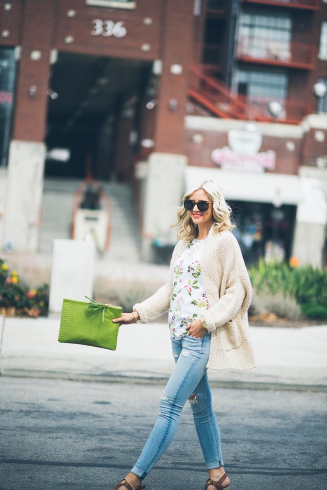 LittleMissFearless_equipment short sleeve blouse green ivy 5