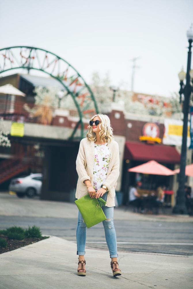LittleMissFearless_equipment short sleeve blouse green ivy 6