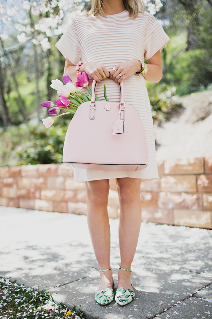 LittleMissFearless_jcrew pink shirt dress 2