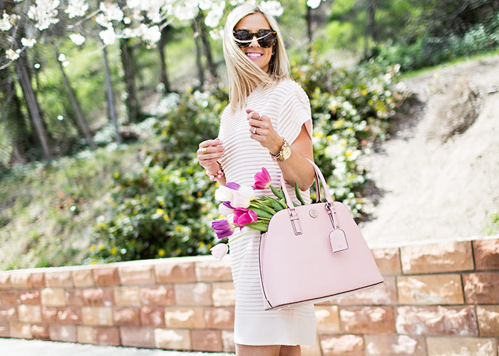 The Pink Shirt Dress You Need Now