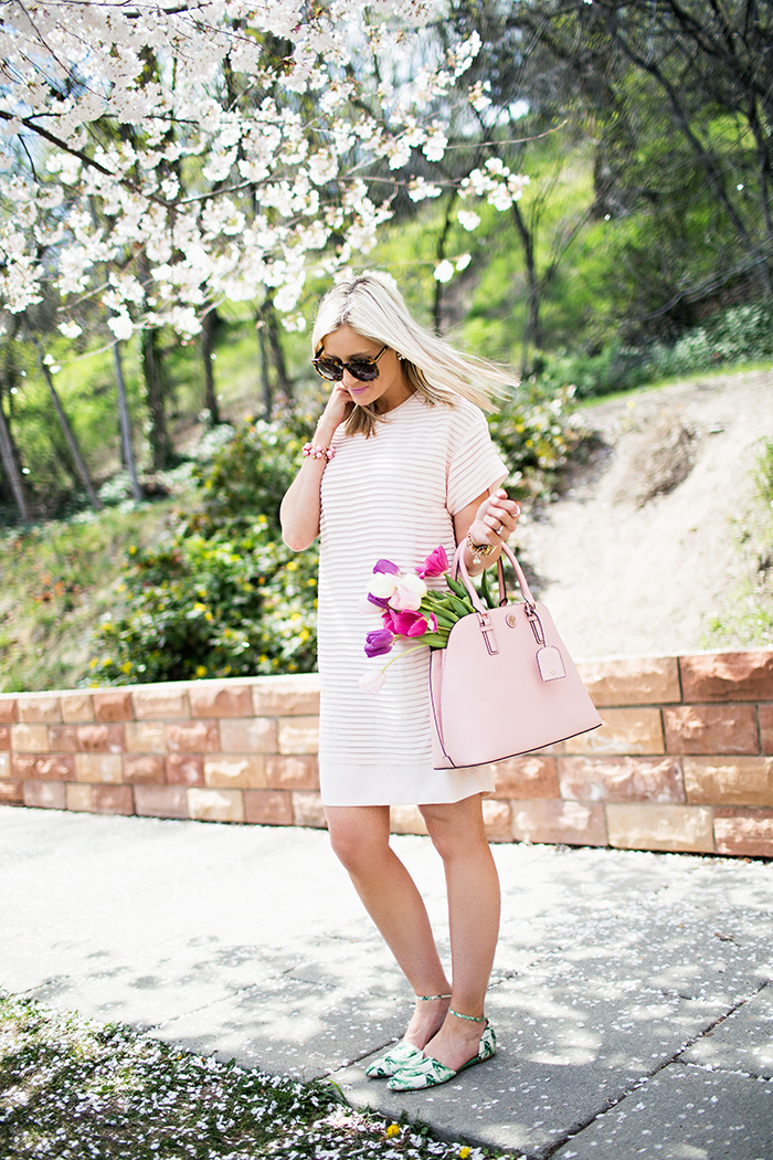 LittleMissFearless_jcrew pink shirt dress 6