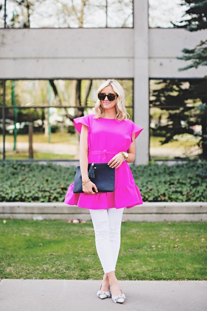 LittleMissFearless_pink cynthia rowley dress 6