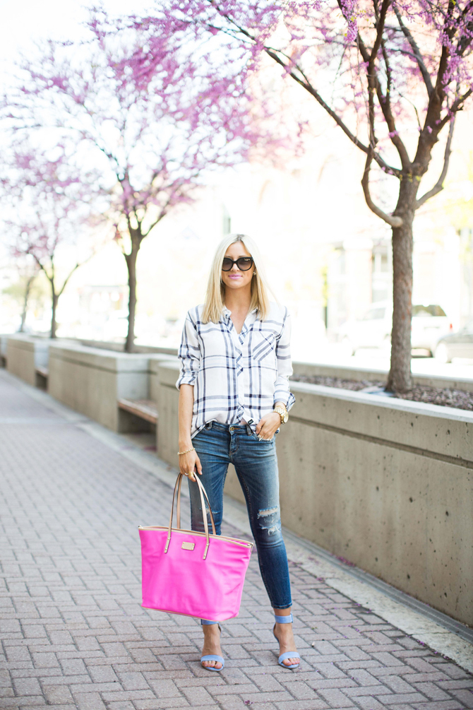 LittleMissFearless_rails shirt light blue sandals 1