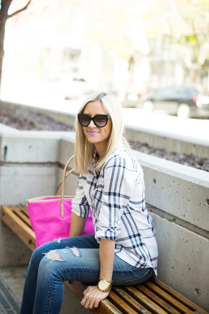 LittleMissFearless_rails shirt light blue sandals 3