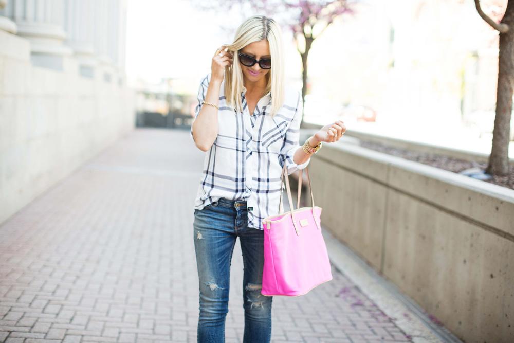 LittleMissFearless_rails shirt light blue sandals 7