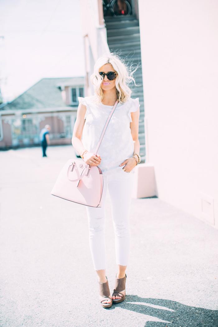 LittleMissFearless_white jbrand jeans 1