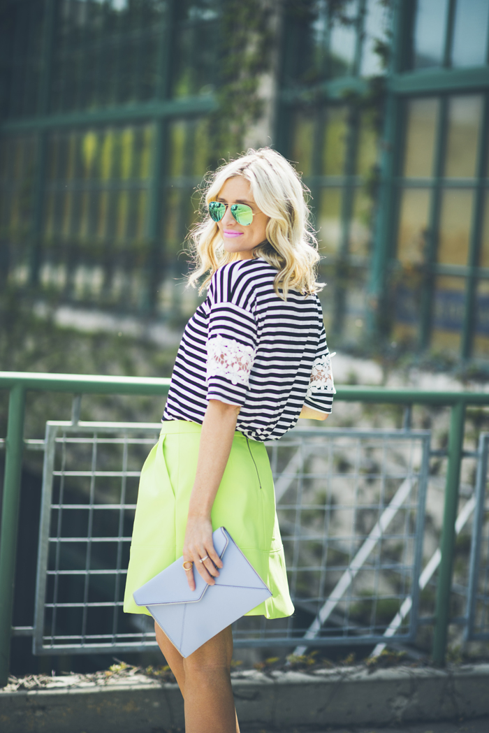 LittleMissFearless_what to wear with neon green 2