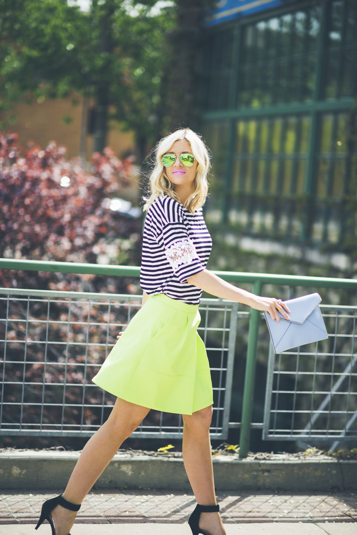 LittleMissFearless_what to wear with neon green 3