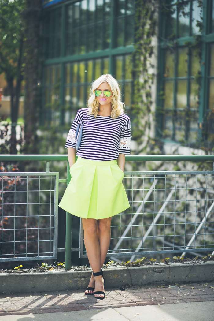 LittleMissFearless_what to wear with neon green 4