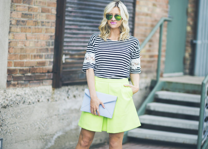 More Ways to Wear Neon Green…