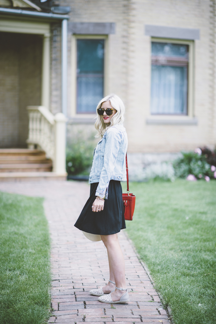 LittleMissFearless_favorite faded denim jacket 9