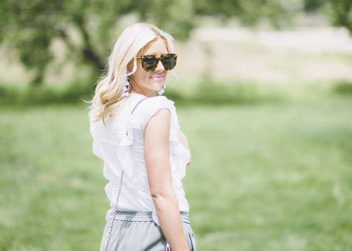 How to Wear White This Summer…