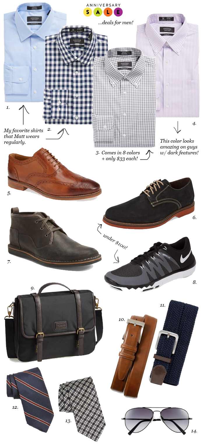 LittleMissFearless_Nordstrom Anniversary Sale 2015 Best Deals for Men