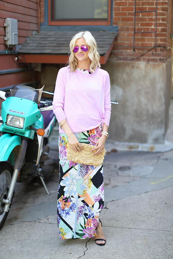 LittleMissFearless_Yumi Kim maxi dress purple