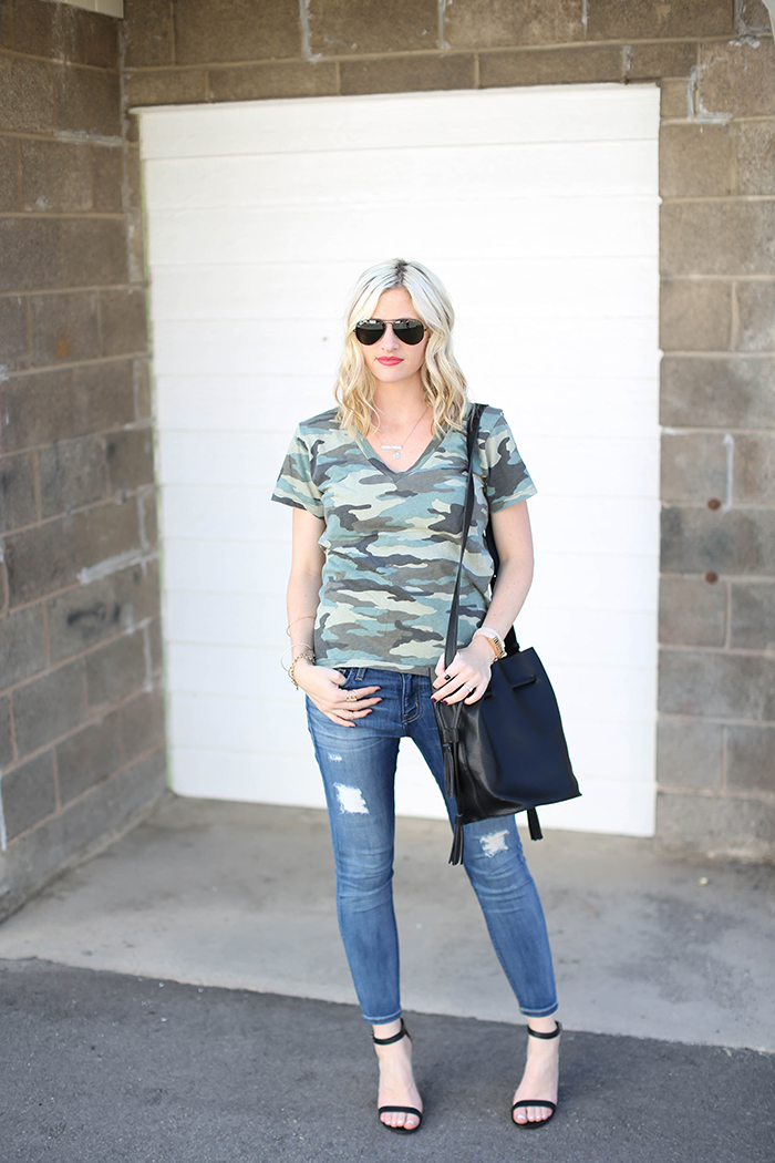 LittleMissFearless_what to wear with a camo tee 10