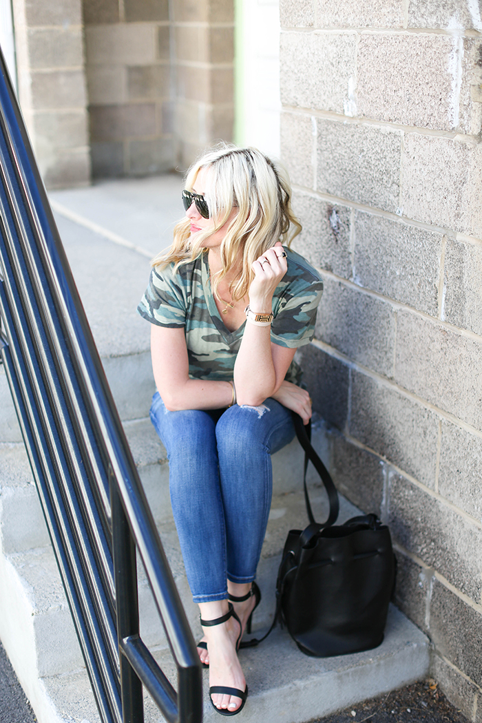 LittleMissFearless_what to wear with a camo tee-2