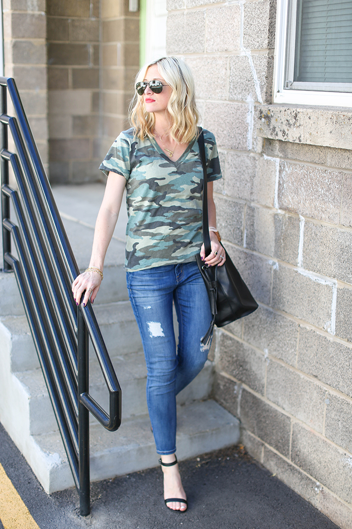 LittleMissFearless_what to wear with a camo tee-3