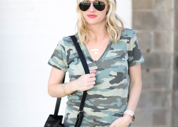 A Camo Tee For Now And Later
