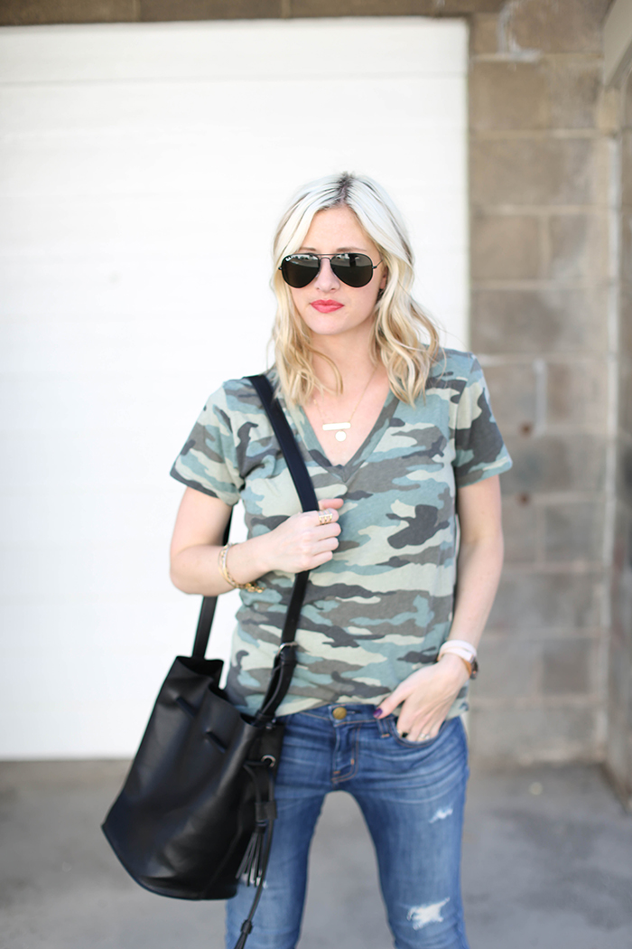 LittleMissFearless_what to wear with a camo tee-5