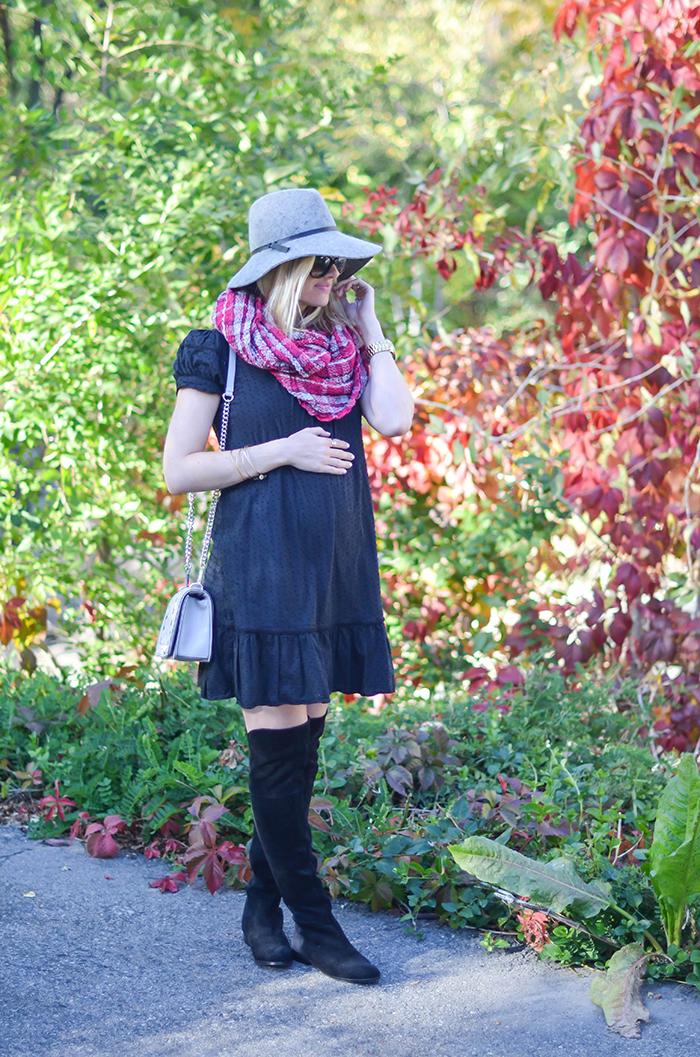 LittleMissFearless_BCBGen plaid loop scarf-4