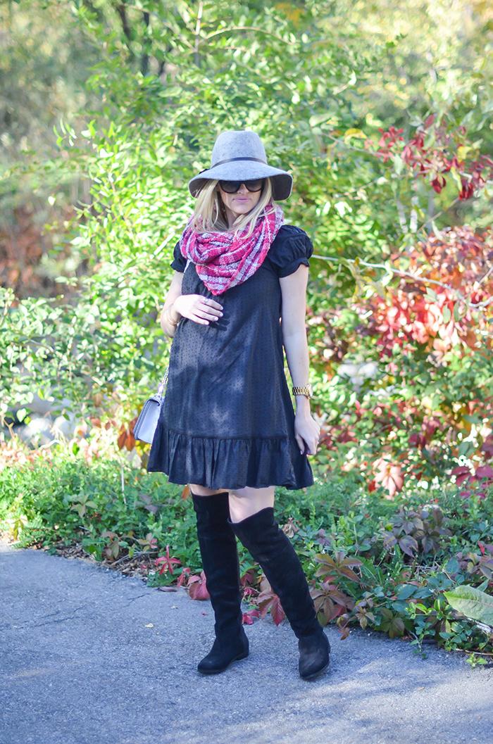LittleMissFearless_BCBGen plaid loop scarf-5