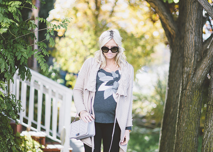 Fall Maternity Style + Best Cyber Monday Sales!