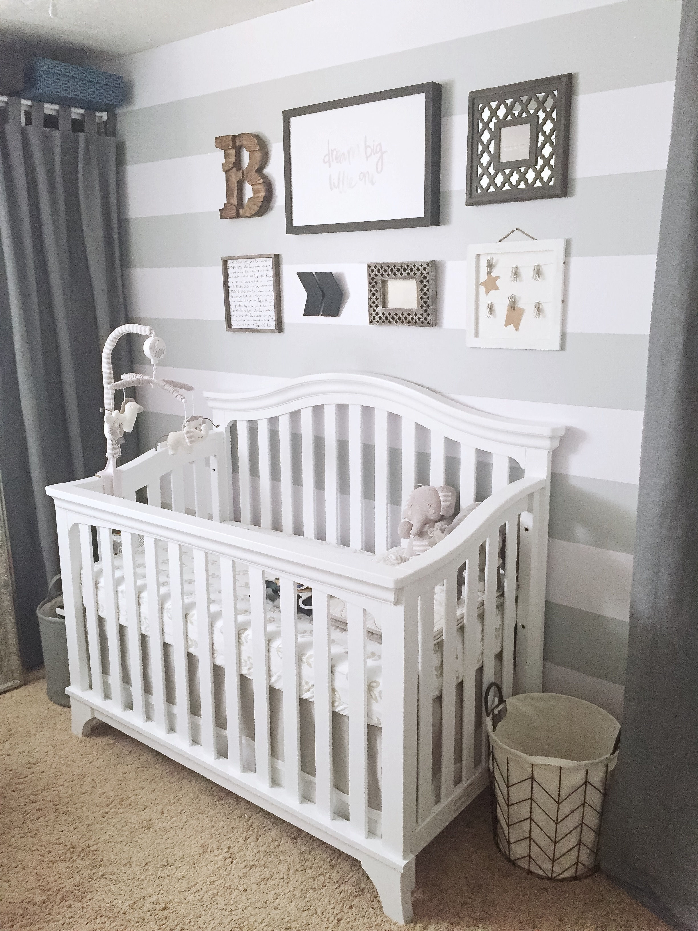 how to transform a small room into the perfect baby
