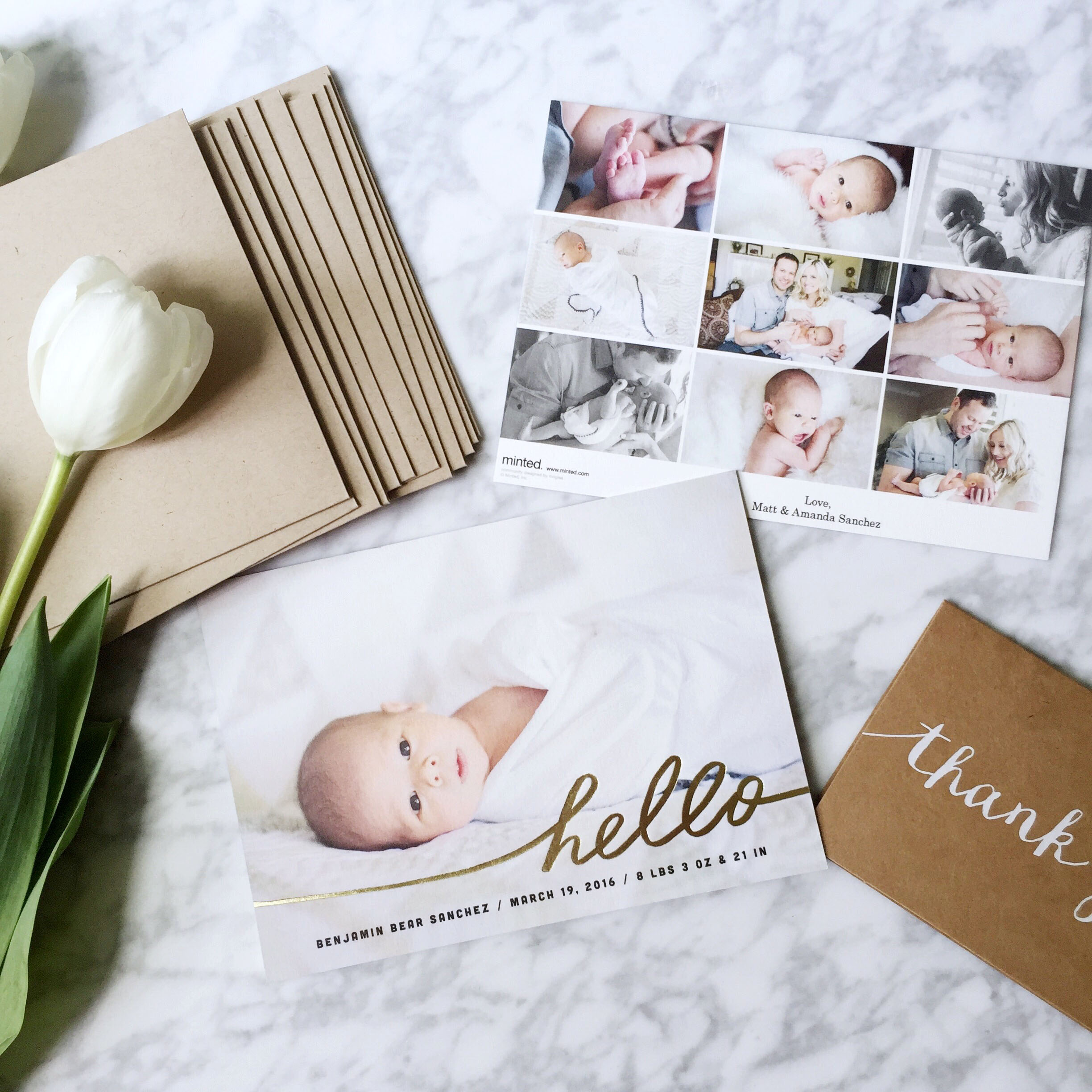 LittleMissFearless_Minted birth announcements 3