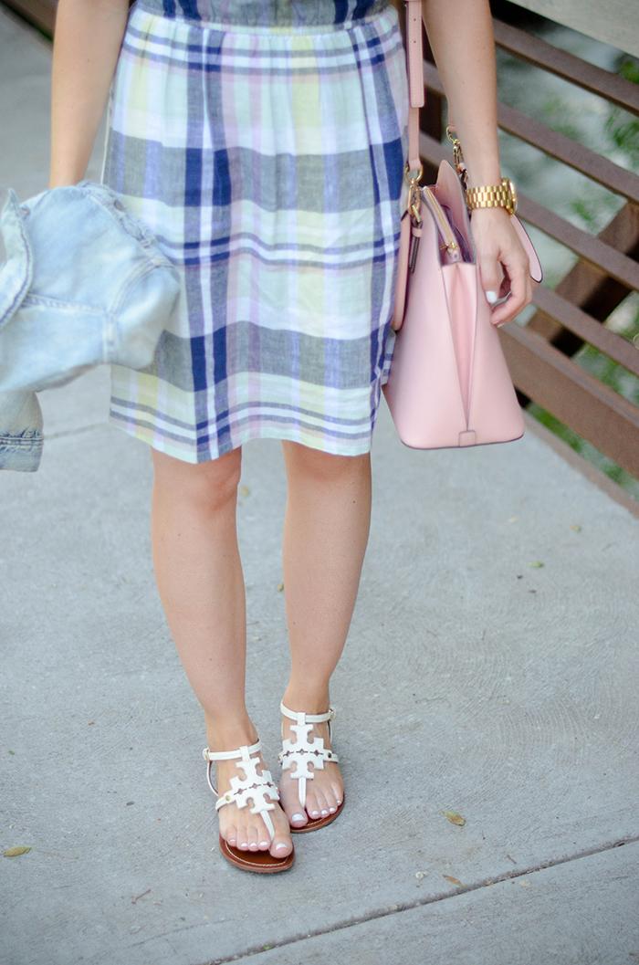 LittleMissFearless_Summer Plaid Old Navy Dress-16
