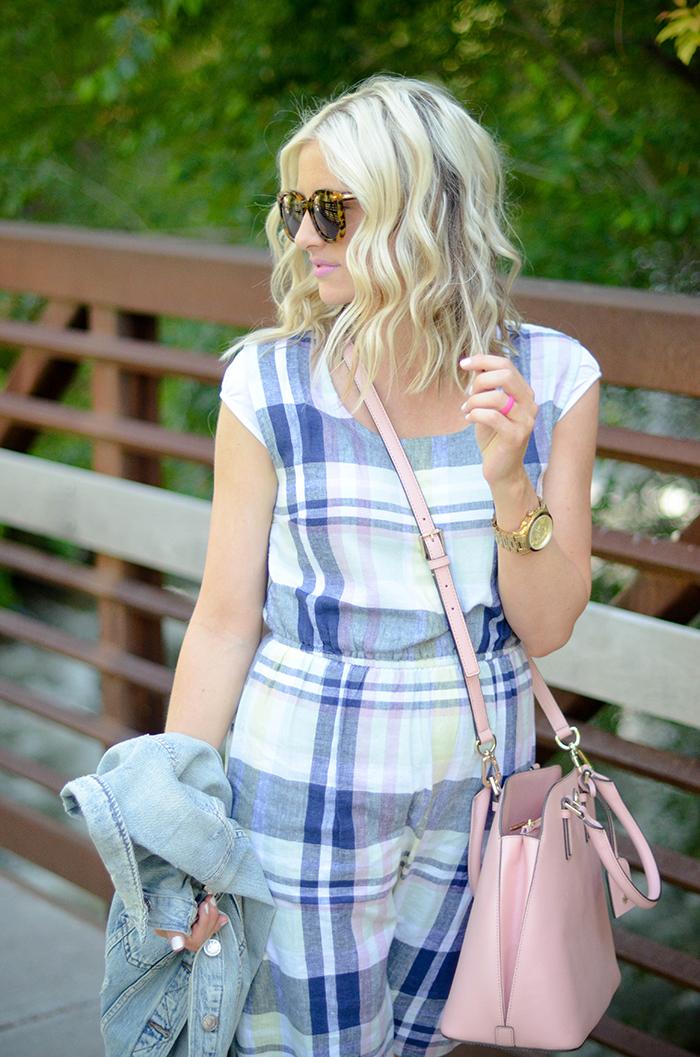 LittleMissFearless_Summer Plaid Old Navy Dress-18