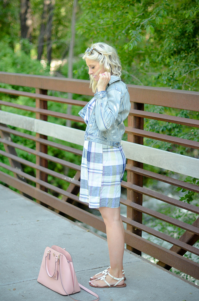 LittleMissFearless_Summer Plaid Old Navy Dress-22