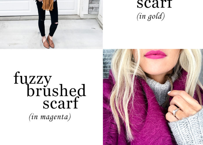 Fearless Faves: Cozy Scarves Edition