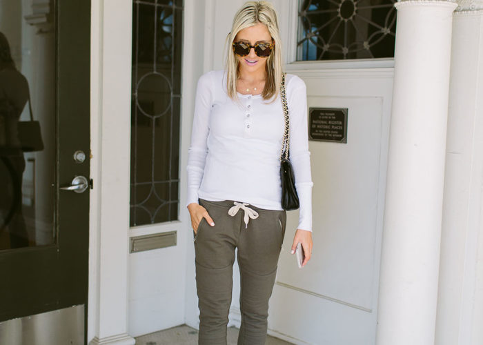 My Favorite Way to Wear Joggers + A BIG SALE!