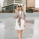 A Fresh New Way to Wear Your Little White Dress