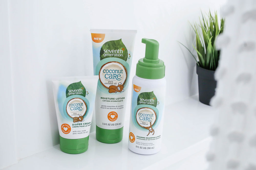 best diaper rash cream seventh generation coconut care | Little Miss Fearless