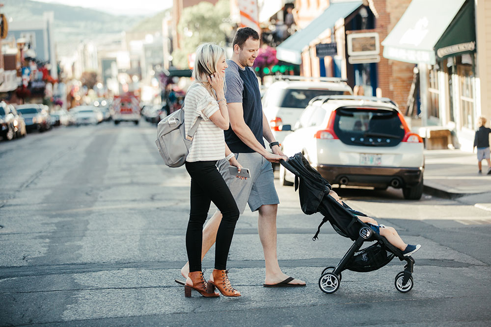 3 Simple, Kid-Friendly Activities From Our Weekend Trip to Park City | What to do in Park City Utah | Best baby strollers for traveling | Baby Jogger City Tour stroller | Little Miss Fearless
