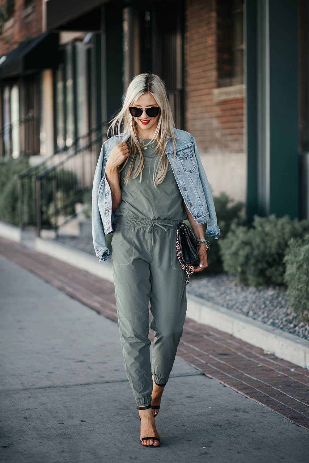 How to wear a jumpsuit 4 ways | summer date night outfit ideas | how to style a jumpsuit | Little Miss Fearless