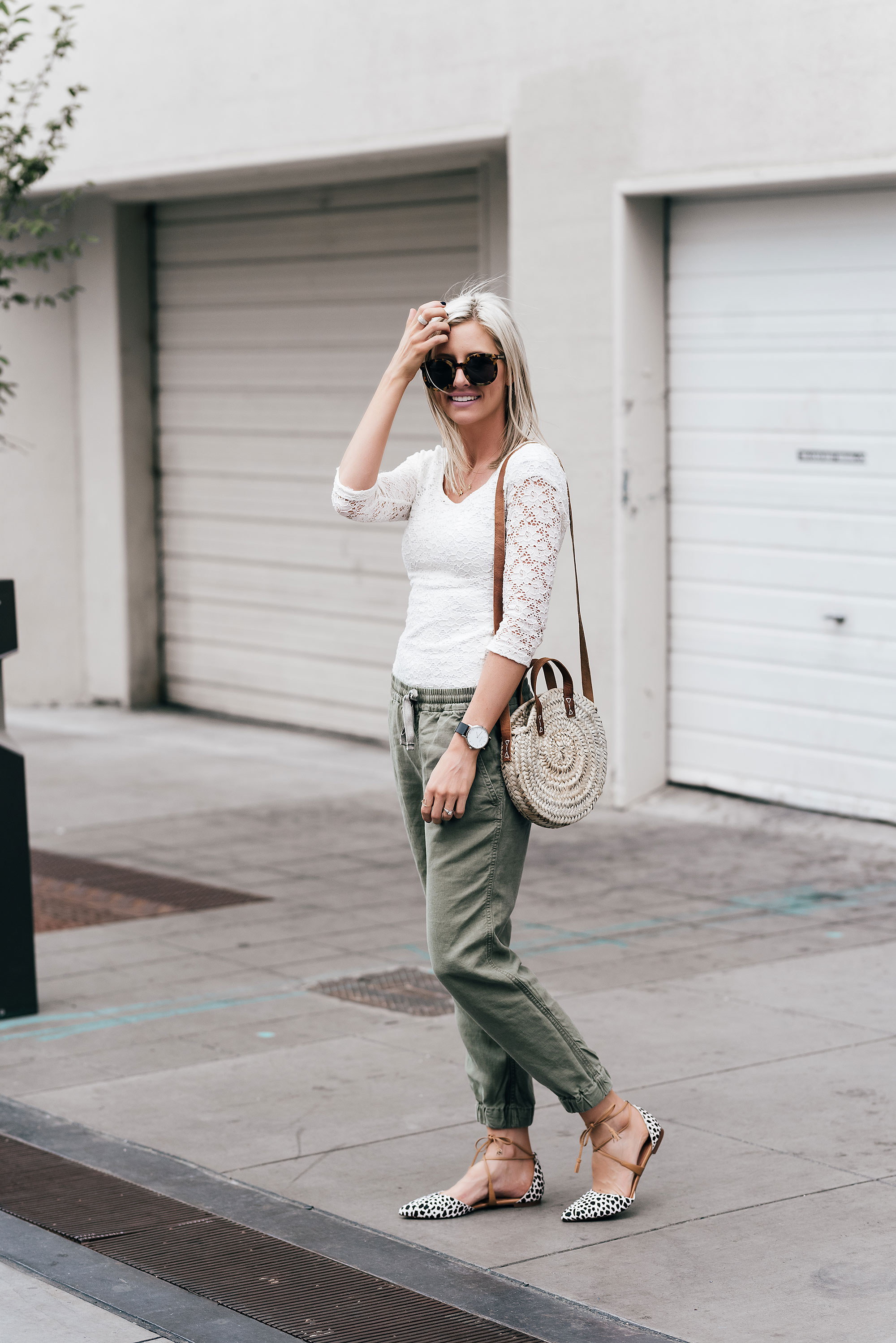 10 Ways to Wear Olive Green All Year