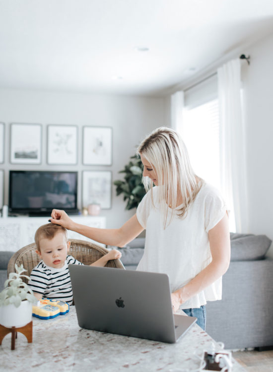 What NOT To Do When Working From Home With a Toddler | Little Miss Fearless