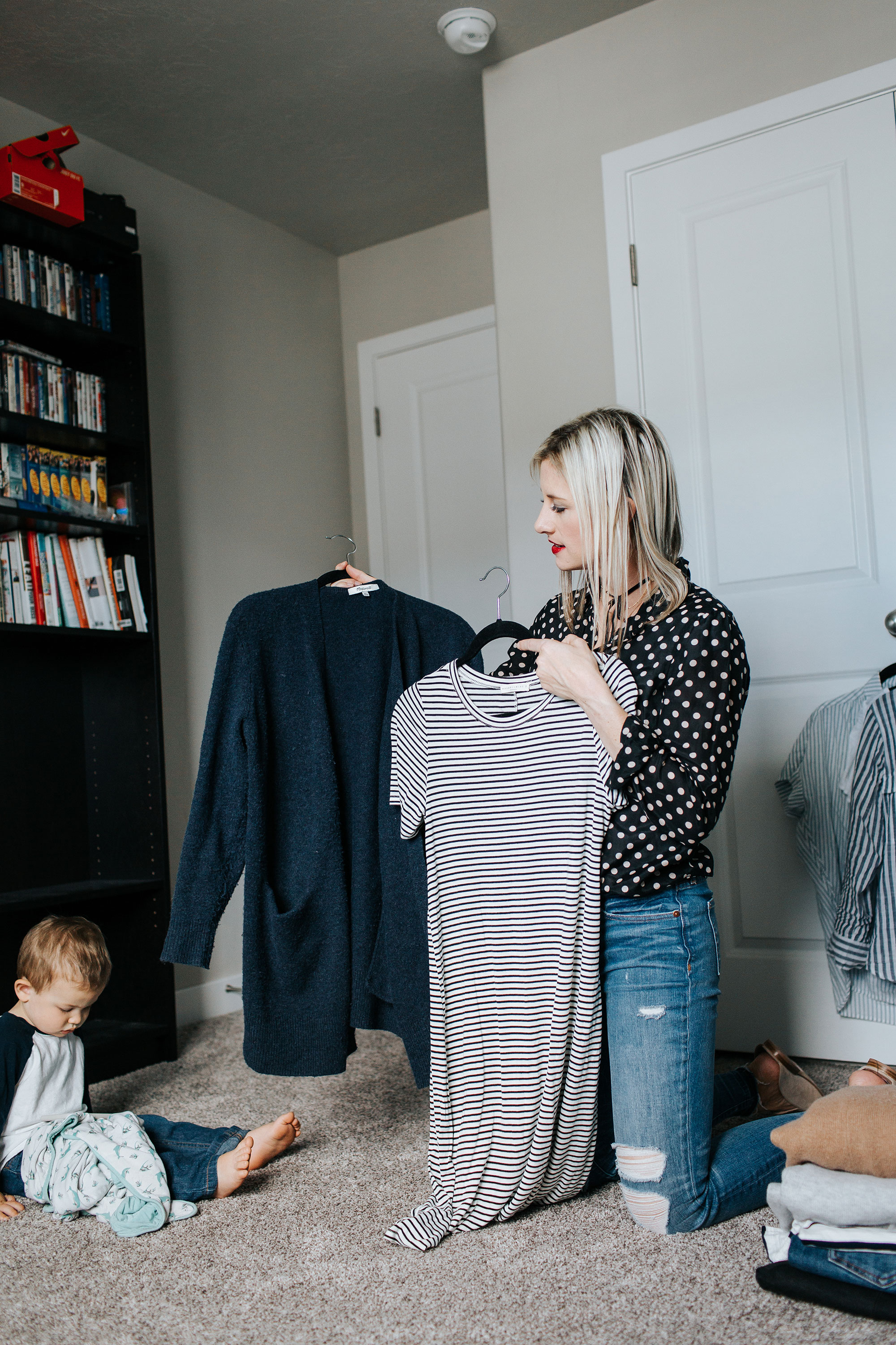 How to Let Go of Clothes You Never Wear + Find Your Most Authentic Personal Style | Little Miss Fearless