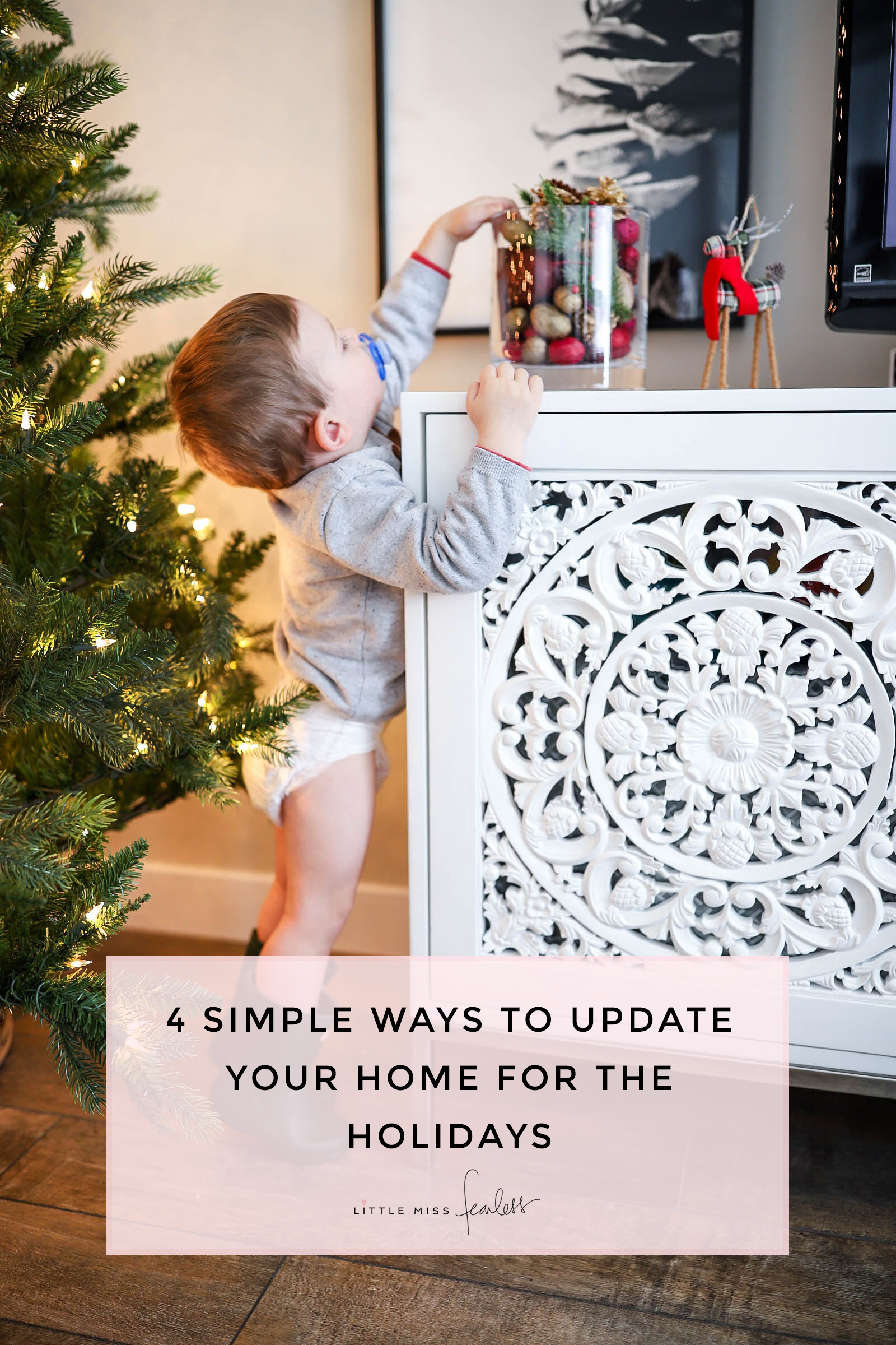 Little Miss Fearless Simple Ways Update Home Decor